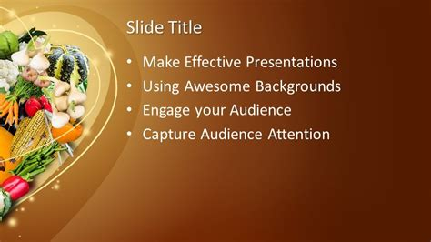 Free Thanksgiving Day PowerPoint Template - Free