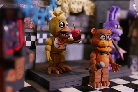 Up Close With Five Nights At Freddy's Play Sets From