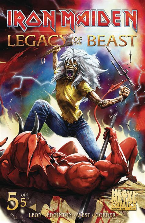 Iron Maiden: Legacy Of The Beast #5 (Cover A Casas
