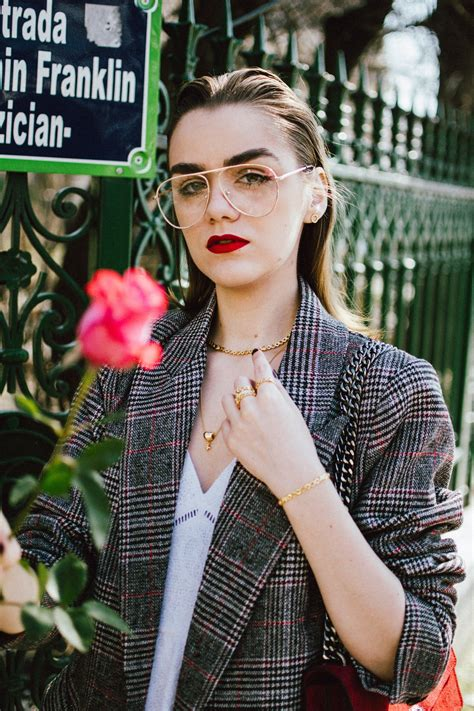The cool way to wear an oversized blazer over a dress