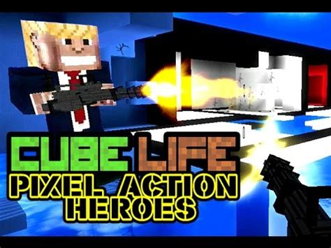 Cube Life: Pixel Action Heroes - TRAILER official [ WiiU