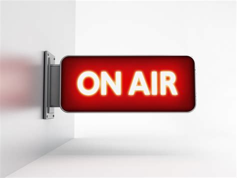 On air sign - KDM
