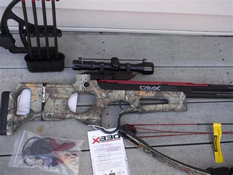 $280 CamX X330 Hunting Crossbow BRAND NEW Made in USA