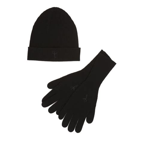 Hat and Gloves Cashmere Set - 100% Hand Knit Cashmere