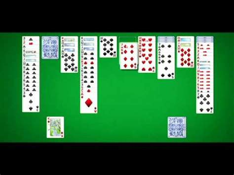 Spider Solitaire Hard Difficulty (4 suits) Cleared - YouTube